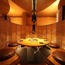 竹材を使用した和の内装