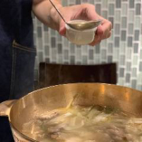 鶏のうまみが凝縮されたスープはかなりこだわり!