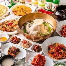 タッカンマリ&特製キムチ&韓国料理