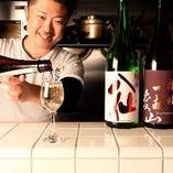 日本酒や日本ワインの飲み比べもできます!