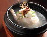 自家製参鶏湯(サンゲタン) スタミナ満点です。