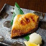 【4品目】焼き物 マトウ鯛一夜干し(ある日の一例)
