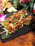 インドネシア風串焼き 豚