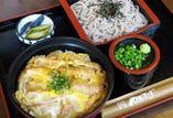 並丼 + 温蕎麦 or 冷蕎麦(7種類)