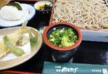 日替り蕎麦セット(平日限定)