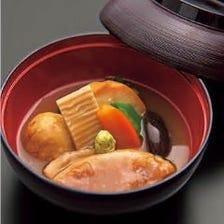 【全9品6,500円】ご接待に最適!名物「合鴨の治部煮」と季節の高級食材を満喫!日本橋室町で和食日和会席