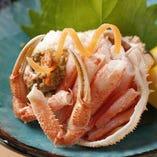 【お料理グレードアップ】日本海の赤い宝石箱「香箱蟹」
