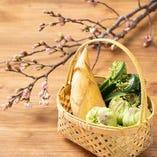 春の訪れを感じる食材