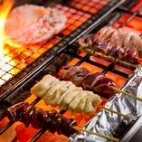 【焼き鳥】 ジューシーで食感も楽しめる名古屋コーチンは大人気
