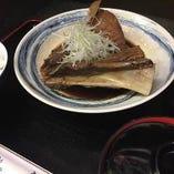 マグロ煮付け定食(マグロあご肉) 10食限定