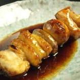 ■もつ串焼き