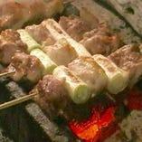 ■ねぎま串焼き