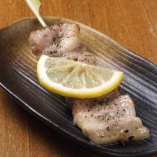塩カルビ串焼き