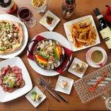 西欧料理を中心に、約15年の経験を積んできたオーナーシェフが贈るお料理をご堪能ください!