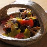 ◇ 揚 物 ◇ プリっぷり【車海老】と旬野菜の天ぷら