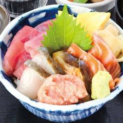 6種盛り 海鮮丼