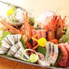 季節の旬を堪能!各地の直送鮮魚!