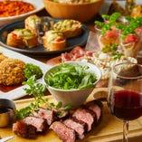 会社宴会などに最適なコースは全3種!いずれも当店自慢の逸品揃いです