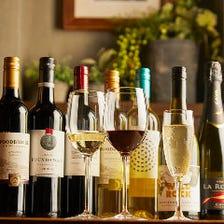 世界中から取り寄せたワインの数々