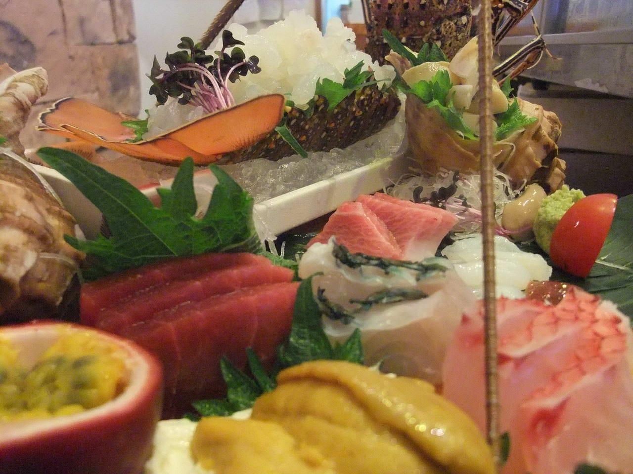新鮮な魚介と御寿司が人気です。