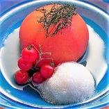 丸ごとトマトの蜜煮