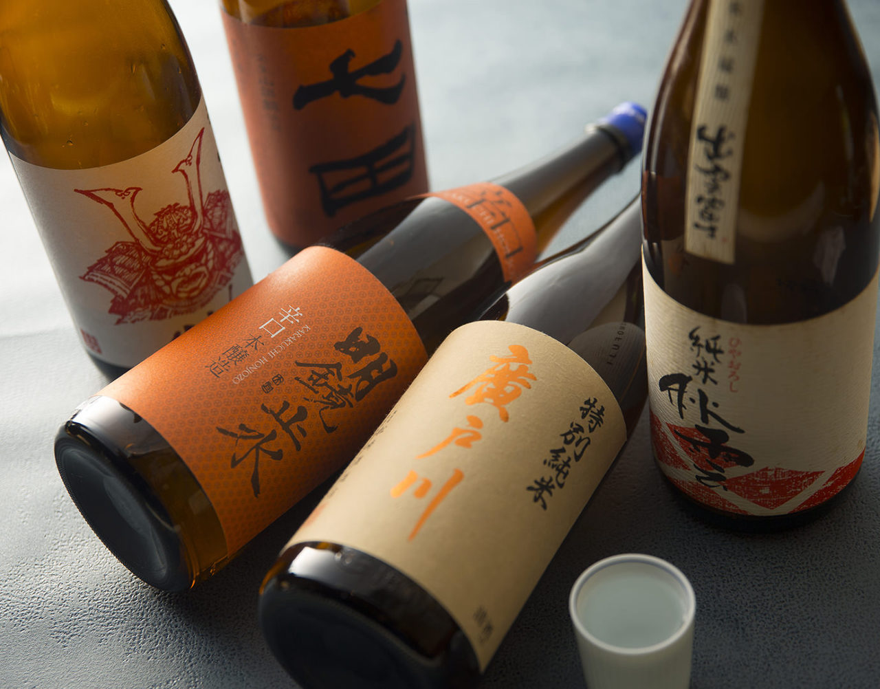 季節限定『旬の日本酒』をご用意
