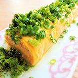 ●出汁巻き玉子● 万能葱たっぷり!京風の出汁巻き玉子が人気