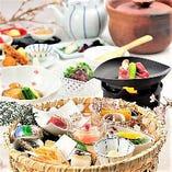 ●コース● 季節食材で織りなす京料理の数々を召し上がれ