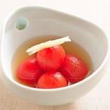 お出汁トマト