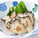 広島県産 牡蠣の醤油麹焼き