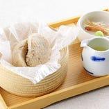 吉野葛使用 自家製ごま豆腐