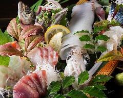 季節の魚と炙り焼 酣
