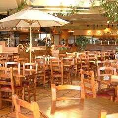 丘の上のビアレストラン