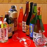 オリジナル焼酎~獺祭など人気の銘柄まで幅広くご用意。
