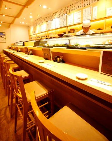 さかなやのmaru寿司 ルクア イーレ店 店内の画像