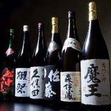 ゆったりと寛ぎながらのお食事と豊富にある日本酒でご堪能あれ。