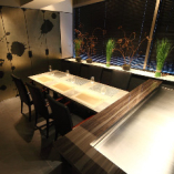 鉄板付テーブル席個室「白虎」「玄武」(~12名様)
