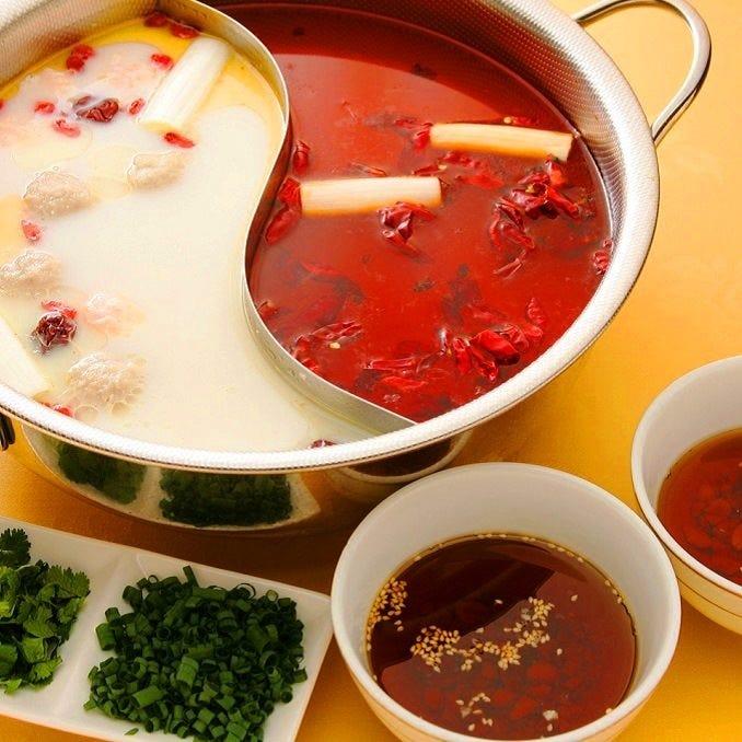 本場の味!花山椒とP県豆板醤を使用