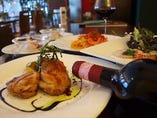 ■ ランチBコース ■※メイン料理の魚・肉料理の両方をお楽しみいただけます。