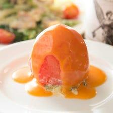 トマトのファルシーサラダ