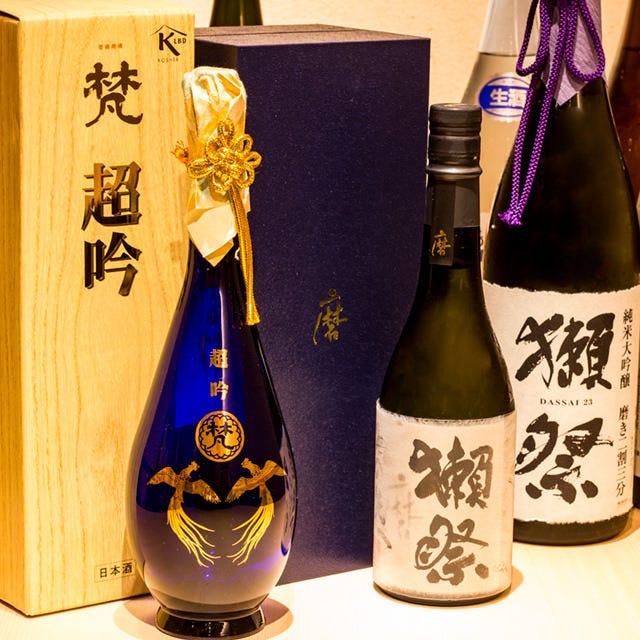 美酒と鮨に酔いしれる…大人のひと時