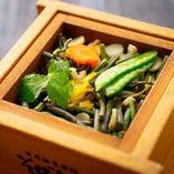 山菜セイロ飯