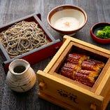 【土日祝限定!】うなぎセイロ飯ととろろざる膳