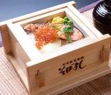 いくら鮭セイロ飯