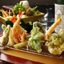 お料理7品 季節の厳選食材を堪能する天ぷらコース「嵐山 Arashiyama」