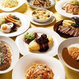 和食・洋食・中華とお食事メニューを多数ご用意しております。