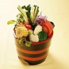 北海道食材をお楽しみください。