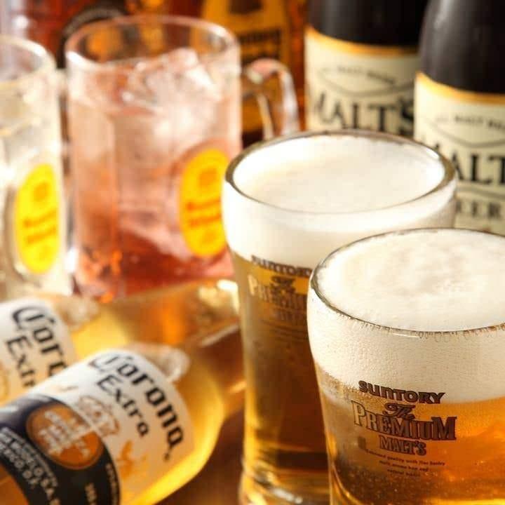 お酒の価格が安い!ビールが290円!!
