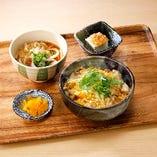 〈5〉A:親子丼とたぬきうどん定食