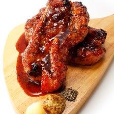 旬の牡蠣と豪快な骨付き肉で冬を満喫